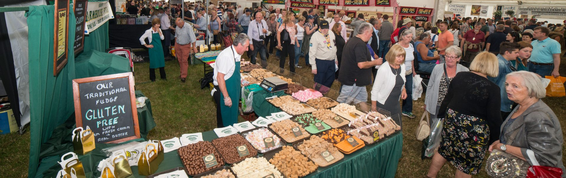 Trade Stands For : Trade stands the royal cheshire county show