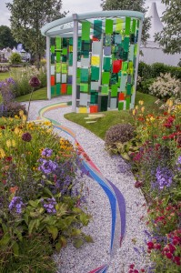 RHS Flower Show Tatton Park 2015. Designed by: Helen Elks-Smith, Kate Hart