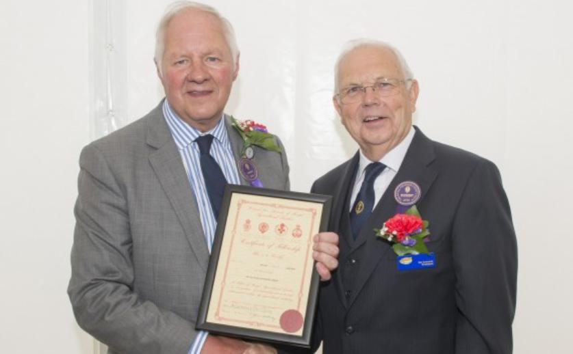 Royal Cheshire County Show Chairman Tony Garnett DL ARAgS ...